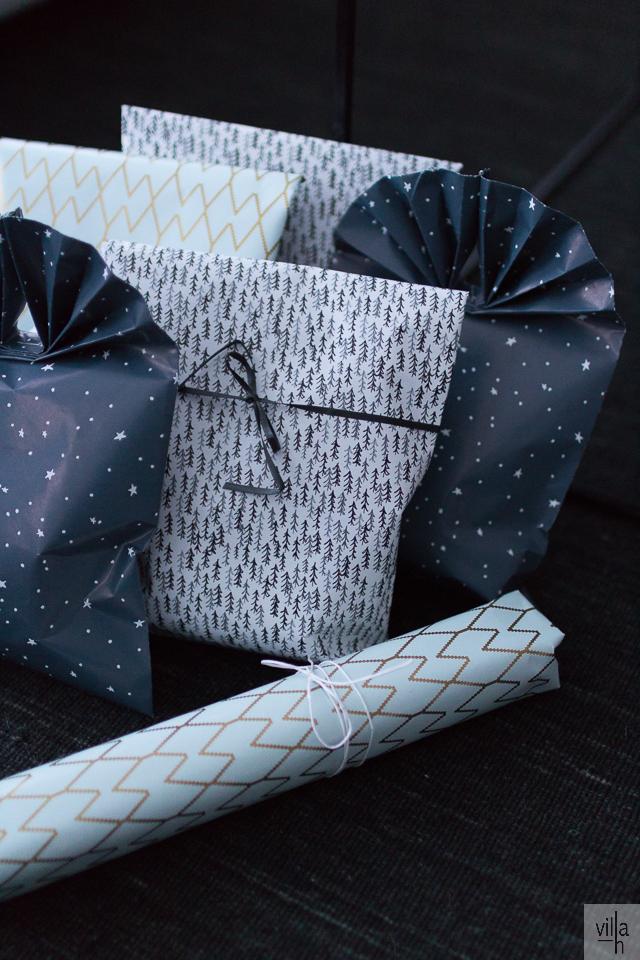 house doctor lahjapaperi, joulu, paketointi