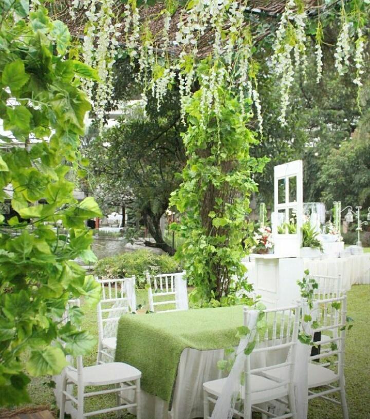 gambar dekorasi pernikahan outdoor