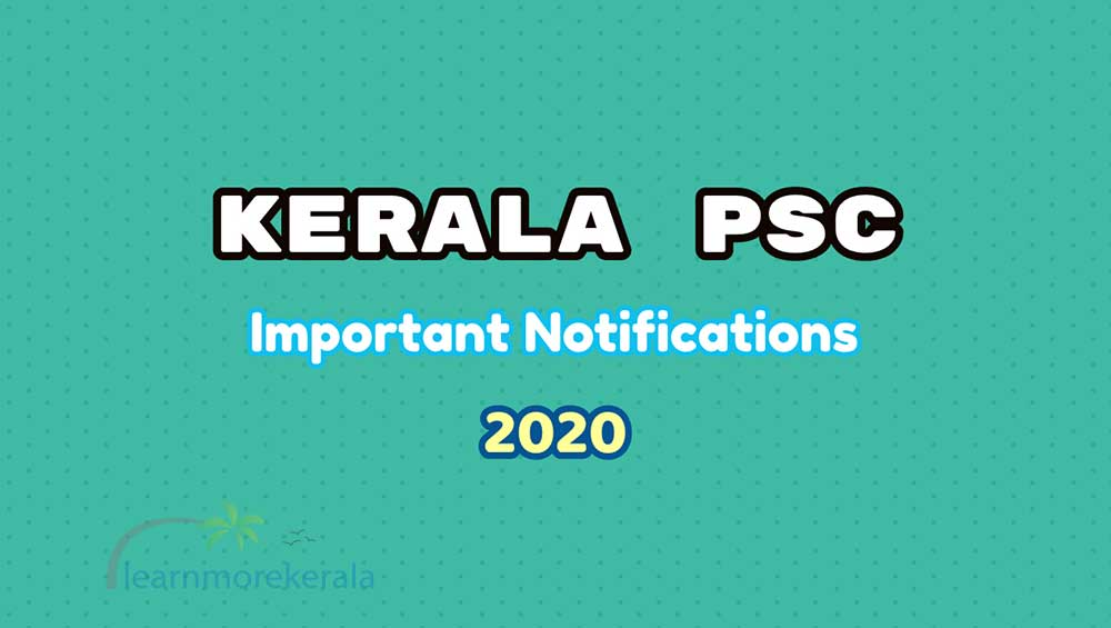 psc important notifications