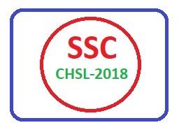 SSC CHSL-2018 Questions