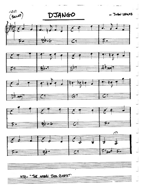 Partitura Flauta John Lewis