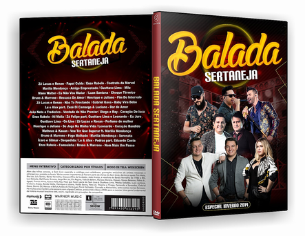 DVD BALADA SERTANEJA ESPECIAL DE INVERNO - ISO