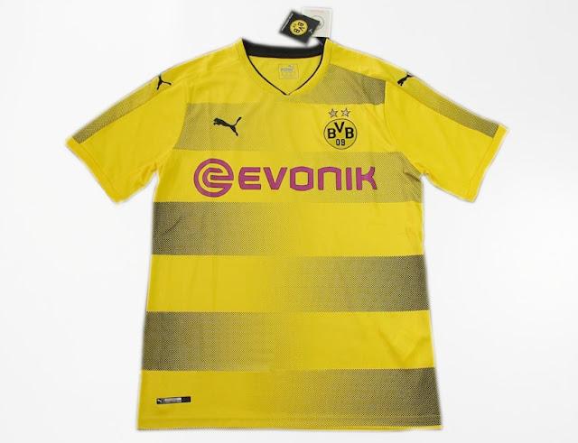 New Jersey Borussia Dortmund Home GO Musim 2017-18
