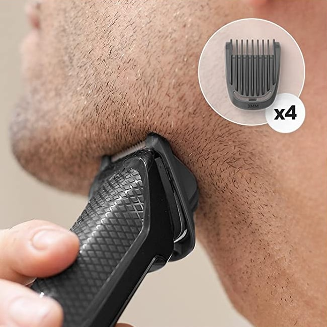 3mm beard cut using this Phillips MG3270/13 Trimer.