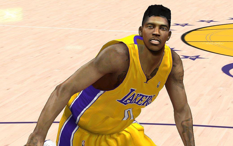 Nick Young Cyberface Patch