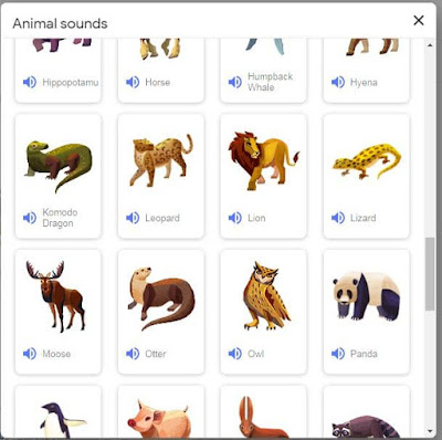 list-of-all-google-search-result-to-animal-sounds
