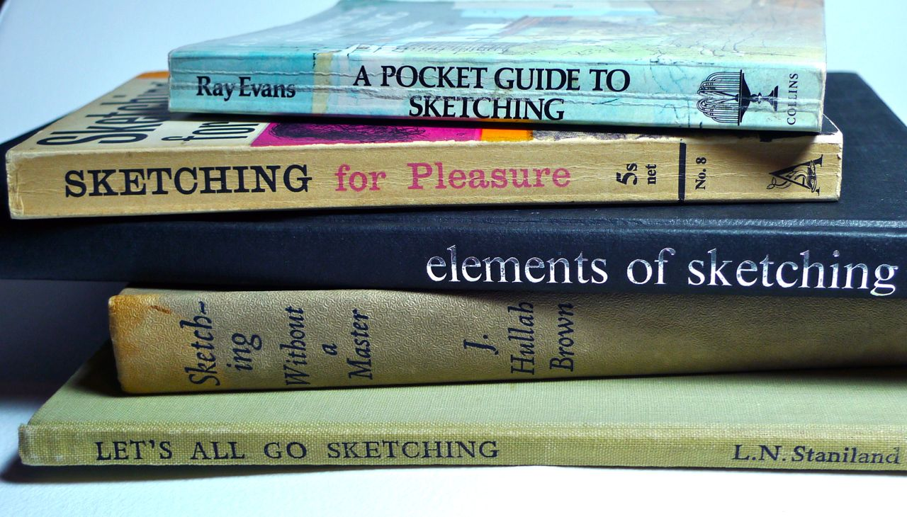 Your Favourite Books About Sketching
