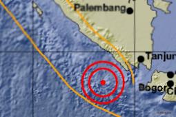 Gempa Mengguncang Tanggamus Lampung