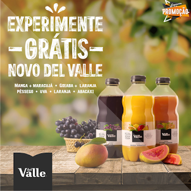 Experimente Gratuitamente o NOVO Suco Del Valle