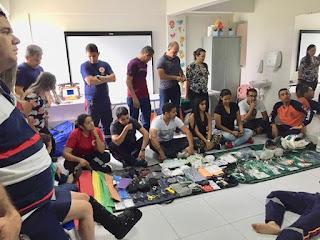 Equipe do SAMU Guarabira recebe treinamento de requalificação técnica