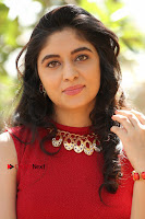 Telugu Actress Zahida Sam Latest Pos in Red Gown at RF Films New Movie Opening  0236.JPG