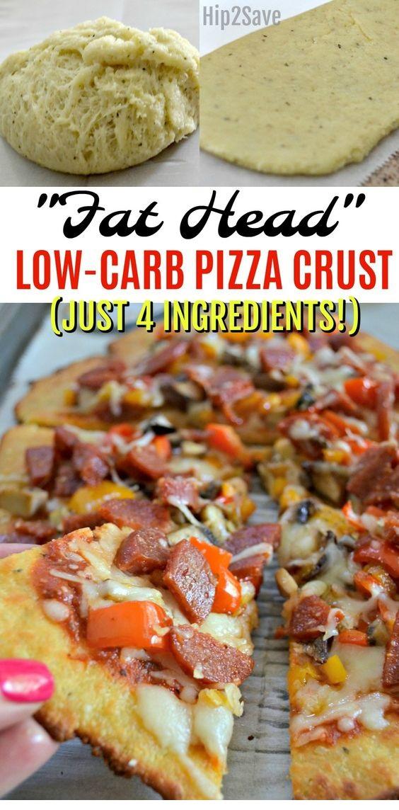 Fat Head Low-Carb Pizza Crust