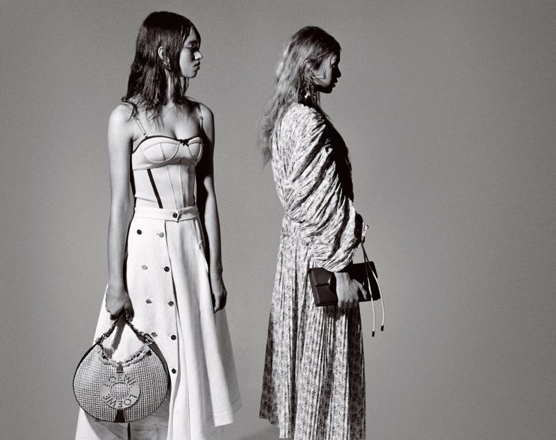 Irina Shayk & Stella Maxwell for W Magazine, February 2017