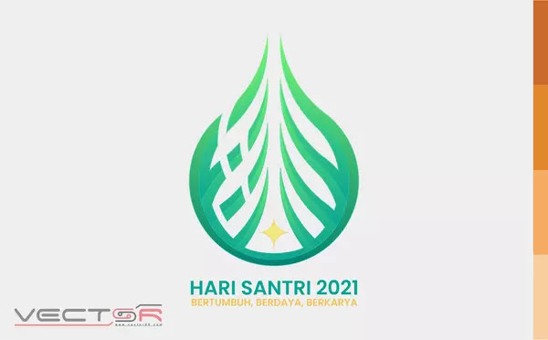Hari Santri 2021 RMI-NU Logo - Download Vector File AI (Adobe Illustrator)