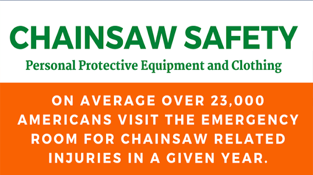Chainsaw Safety Personal Protective Equipment and Clothing