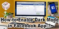 How to Enable Dark Mode in Facebook App?