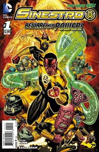 El cómic de Sinestro está escrito por Cullen Bunn
