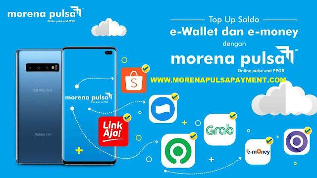 Cara Topup Saldo E-Wallet di Morena Pulsa