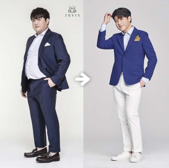 Shindong revealed a different look by losing weight