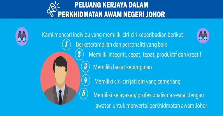 Jawatan Kosong di Suruhanjaya Perkhidmatan Awam Johor SPAJ