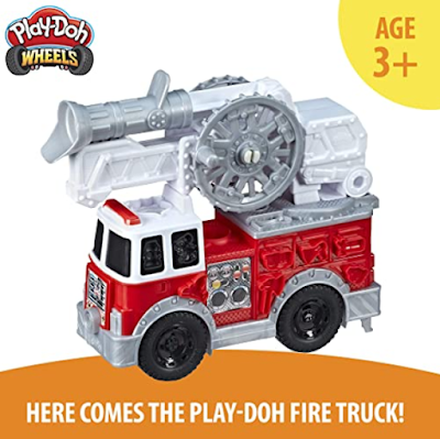 PLAY-DOH Wheels Firetruck Toy for Development of Imaginations of your Kid