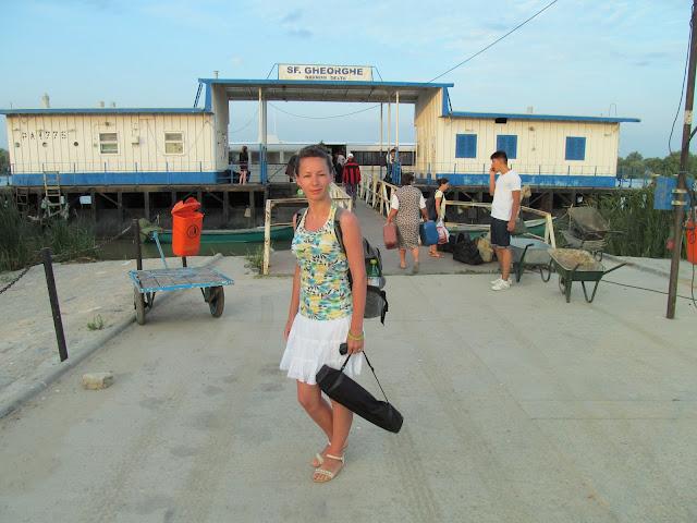 portul maritim din sfantu gheorghe