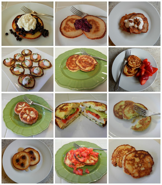 Eggface%2BPancake%2BSavory%2Band%2BSweet%2B%2BCollage Weight Loss Recipes Healthy Italian Dinner Recipe: Ricotta Pancake Pizza