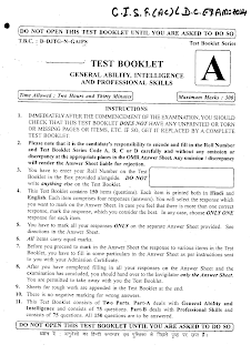 CISF previous year paper  2014 with answer pdf