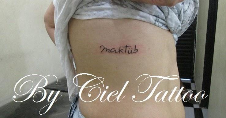 Ciel Tattoo Tattoo De Escrita