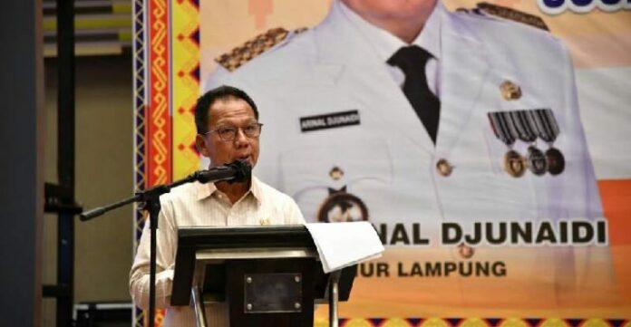 Ketua DPRD Provinsi Lampung Buka Acara Rapat Koordinasi Sosialisasi Peraturan Perundang-Undangan