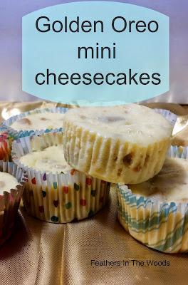 golden oreo mini cheesecake recipe