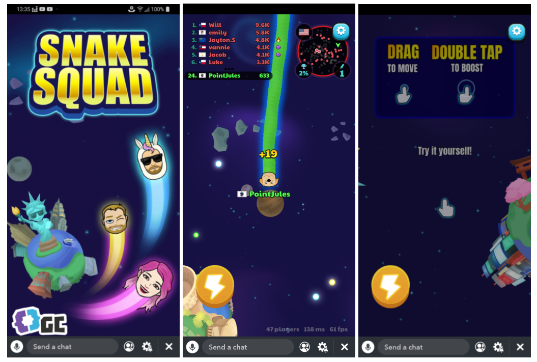 Snapchat is finally rolling out three in-app Games in a bid to attract more Instagram users