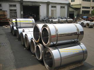 INOX%2B304%257E201 Cột cờ inox 304 cao 9m 10 m 11m 12m, cổng xếp inox 304 , cổng xếp sắt không ray kéo tay