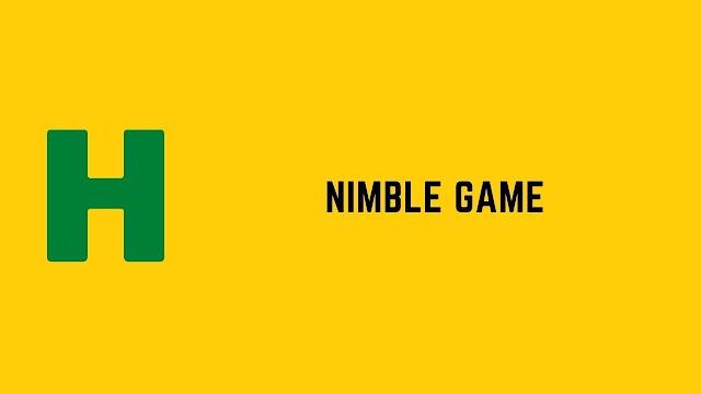 HackerRank Nimble Game problem solution