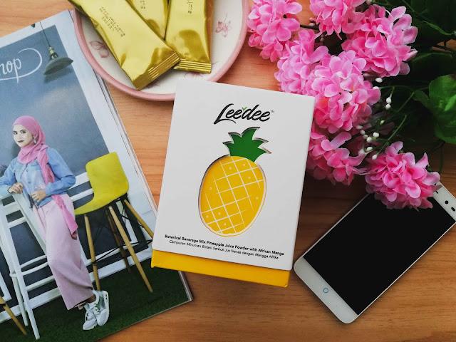 Leedee Jus Nenas Brazil Sesuai Untuk Yang Sedang Berdiet
