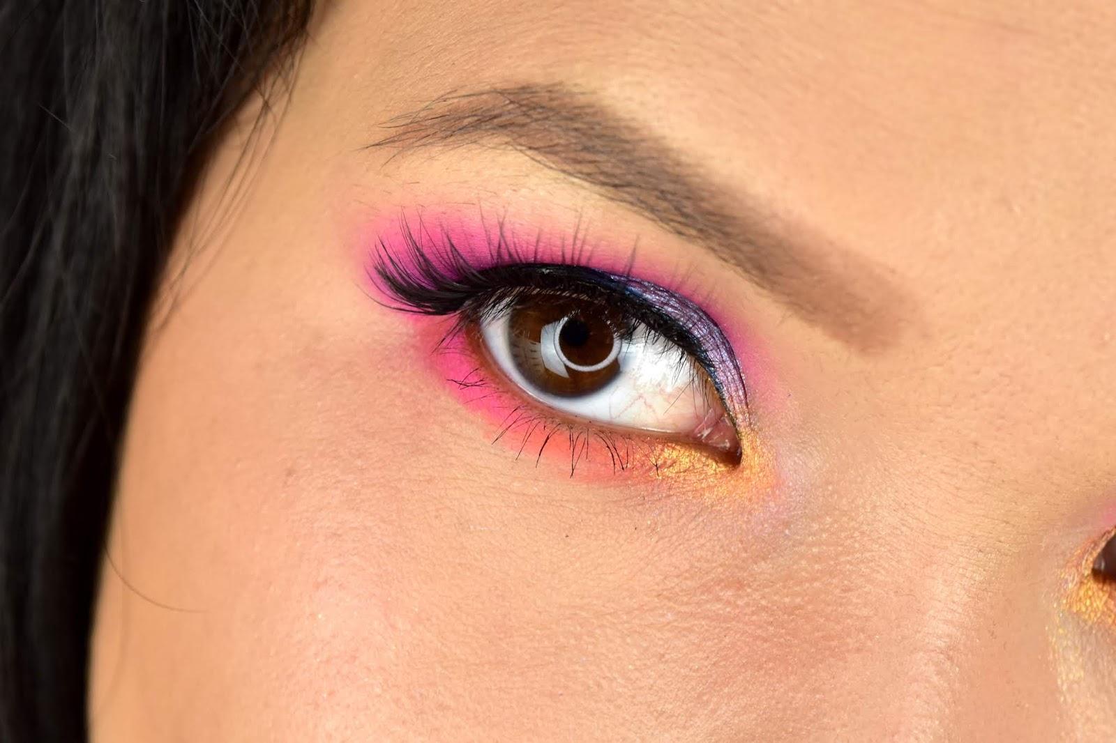Jeffree Star Mini Breaker makeup look
