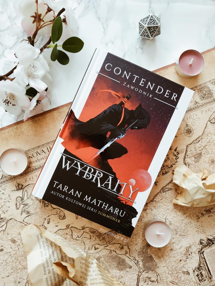 Wybrany – Taran Matharu [RECENZJA]