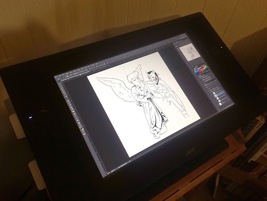 Working with a new WACOM Cintiq 24""