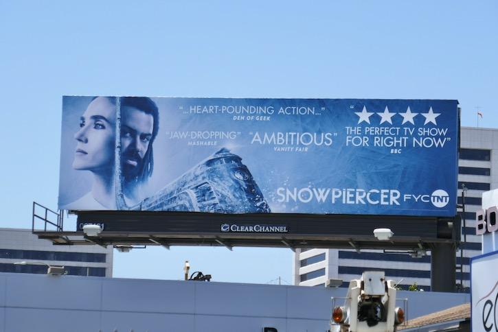 Snowpiercer season 1 Emmy FYC billboard