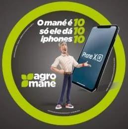 Promoção Agro Mané Concorra 10 iPhones 10
