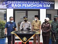 Pertama di Indonesia, Polres Trenggalek Launching Simetiks Mantap dan Visulalisasi Uji Praktik Sim