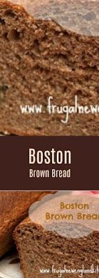 Boston Brown Bread Recipe