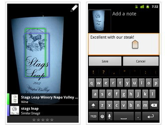 Google Goggles 1.4 released