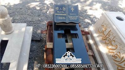 Makam Kristen Granit, Kijing Kuburan Kristen, Model Kuburan Modern