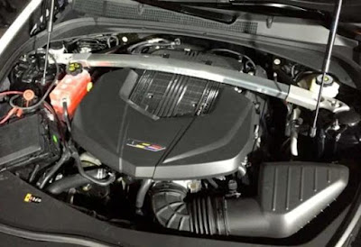 the Cadilac models is powered by a turbocharged 4-cylinder engine
