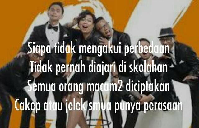 Kata-Kata Mutiara dari Lirik Lagu Project Pop