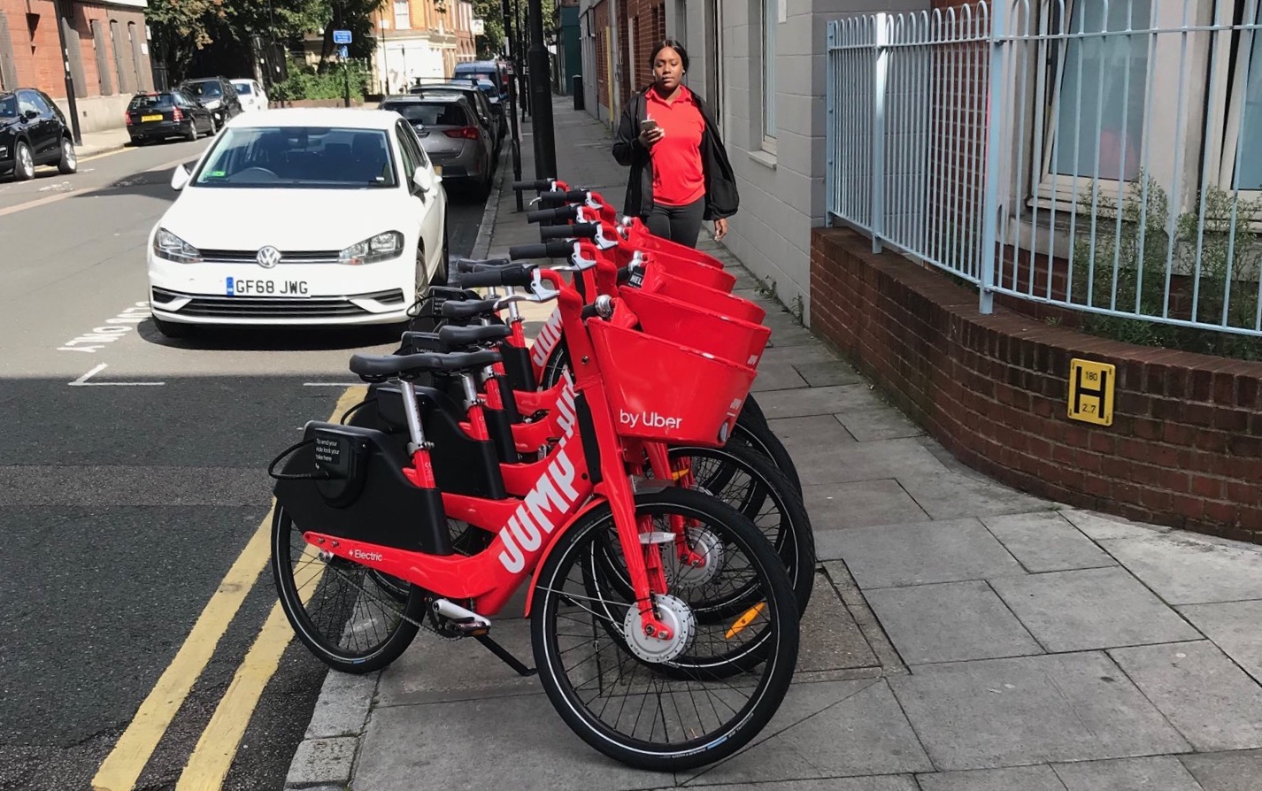 Taxi Leaks: Uber/Jump Bikes Dumped with Complete Disregard