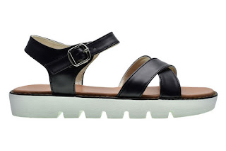 sandal flip flops cerelia faustine hitam