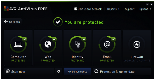 AVG AntiVirus Free 2016 filehippo