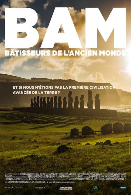"""Sortie du film """"Bâtisseurs de l'Ancien Monde""""  BAM"""